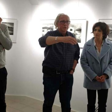 Vernissage de l'exposition « Terres nues » de Jean Hervoche